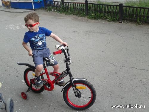Мой любимый велосипедист
