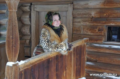 Проводы зимы в стиле А  la Russe