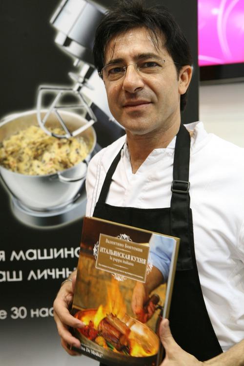 Валентино Бонтемпи: «В кулинарии, как в моде, каждый может создавать свой стиль»