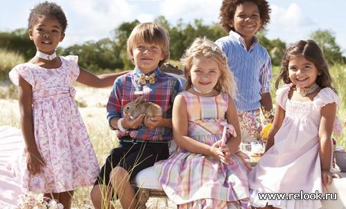 Весенняя романтика для детей от Ralph Lauren