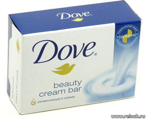 DOVE: лосьон для тела и дезодорант.