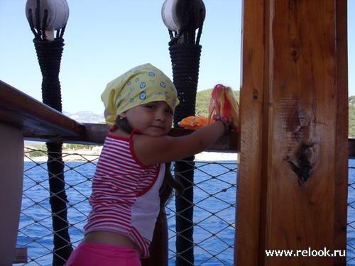 Пляжная мода моей дочки