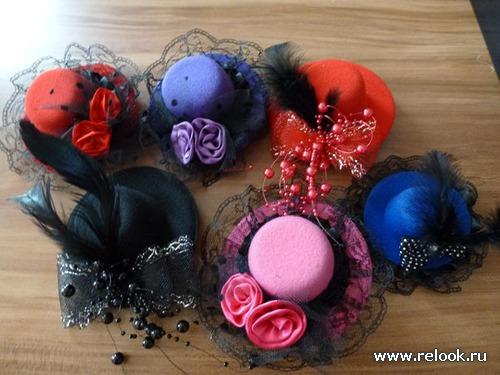 Как сделать шляпу для девочки 812