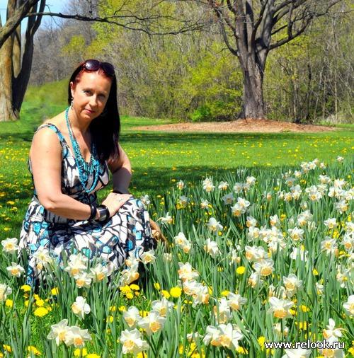 Май в столице Канады это фестиваль тюльпанов, цветущие магнолии и мои новые летние платья.