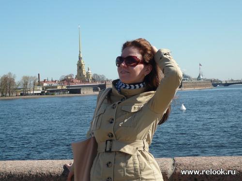 Питерский образ. Ветрено, солнечно…