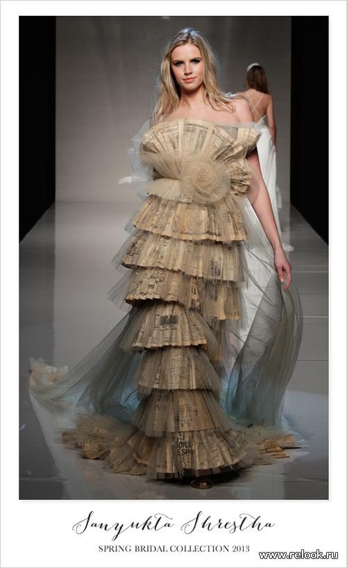 Свадебная мода из Лондона
