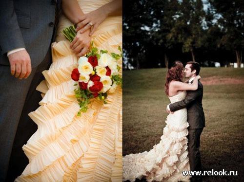 Альтернативы белому платью невесты