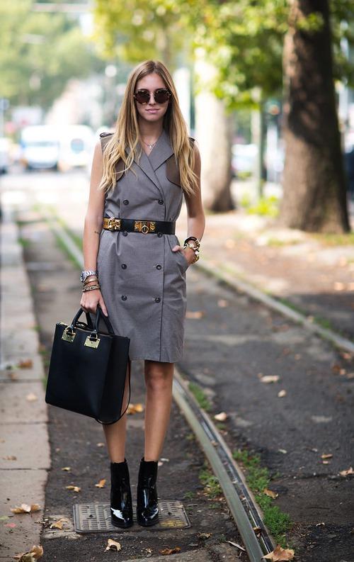 Кьяра Ферраньи на юбилейной Mercedes-Benz Fashion Week Russia