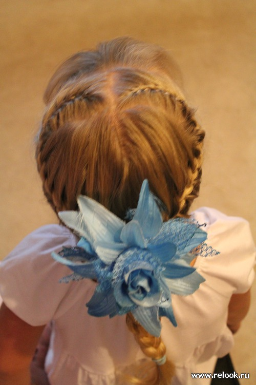 Плетение кос и прически. Часть2