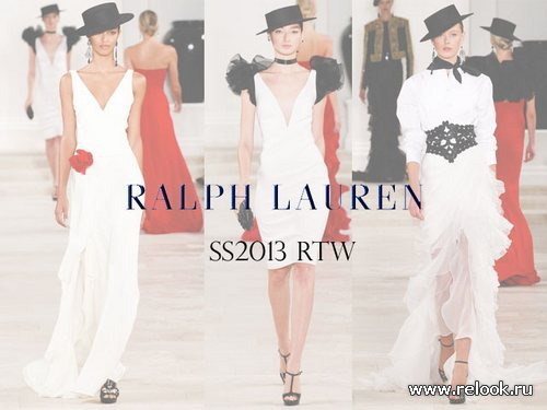 New York Fashion Week: Ralph Lauren весна-лето 2013