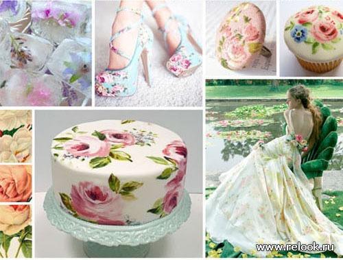Элементы свадебного декора: цветы