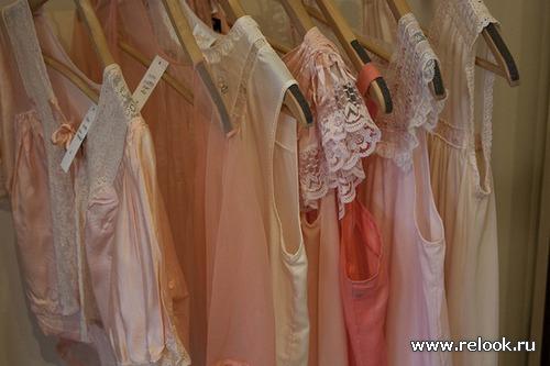 «Ночной» гардероб: сорочка, рубашка, пижама