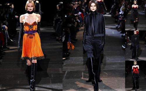 Givenchy осень 2012 - роскошная брутальность