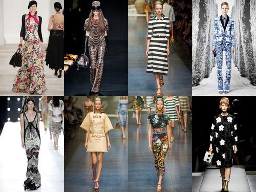 Весна-лето 2013: модный принт