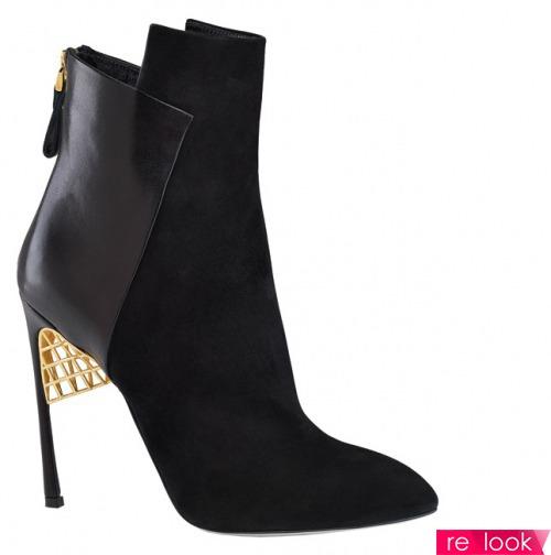 Мода осени 2013: ботинки и ботильоны