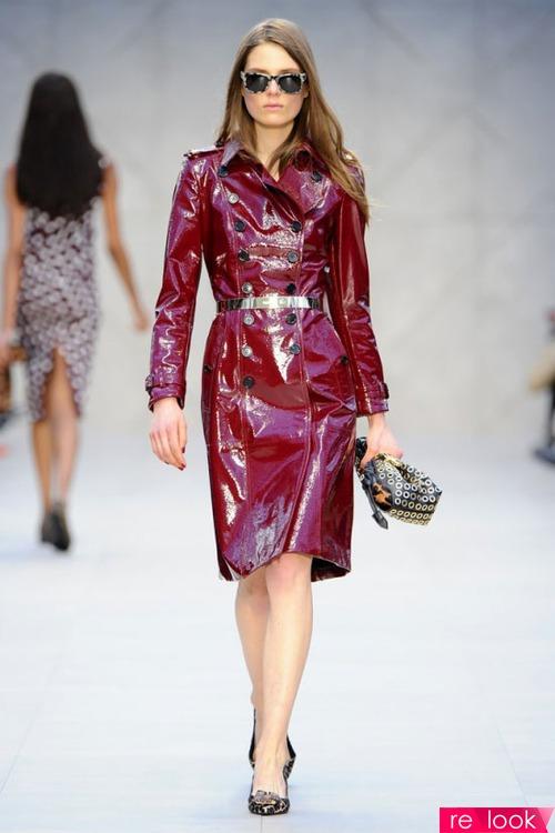 Мода осени 2013: плащи