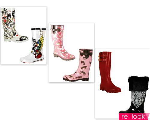 Резиновая обувь 2013