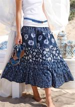 Как и с чем носить многоярусную юбку?