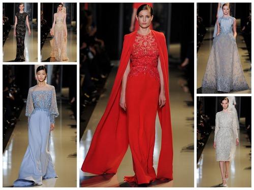 Elie Saab Spring 2013 Couture - Голливуд навсегда