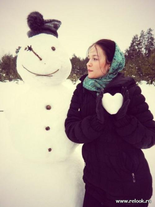 Холодный мужчина и горячая женщина