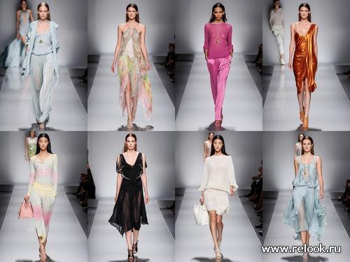 Blumarine Spring 2013 Ready-to-Wear - сон в эльфийскую ночь