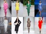 Гармония цвета в женской моде 2013