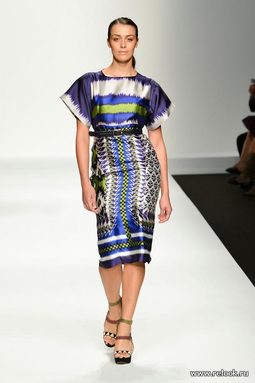 Мода для полных весна-лето 2013 от Elena Miro