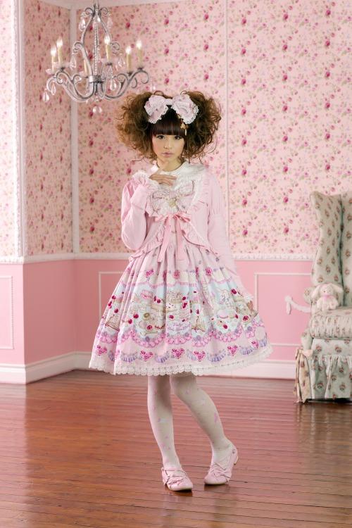 Живые куклы. Японская уличная мода