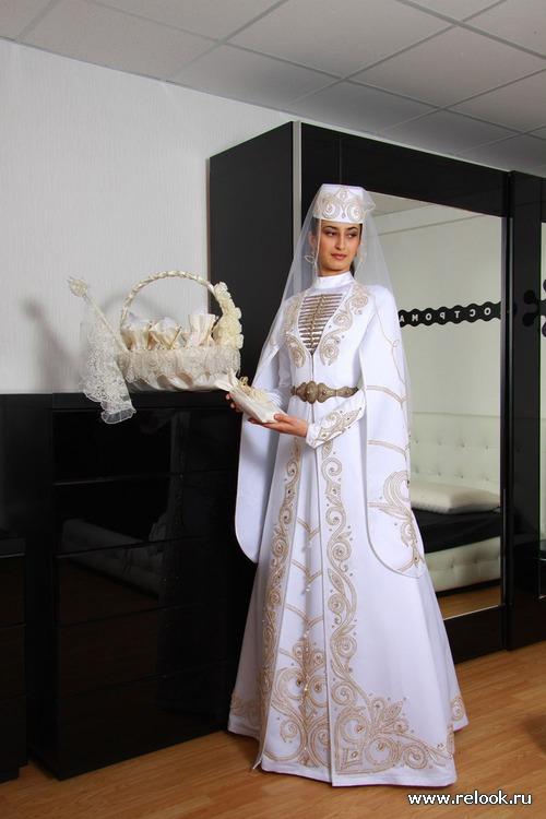 Осетинская свадьба и наряд невесты.