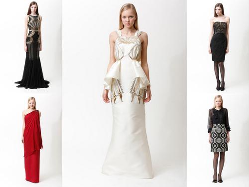 Badgley Mischka Pre-Fall 2013 - межсезонье в платьях