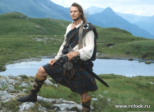 Шотландский образ. Килт