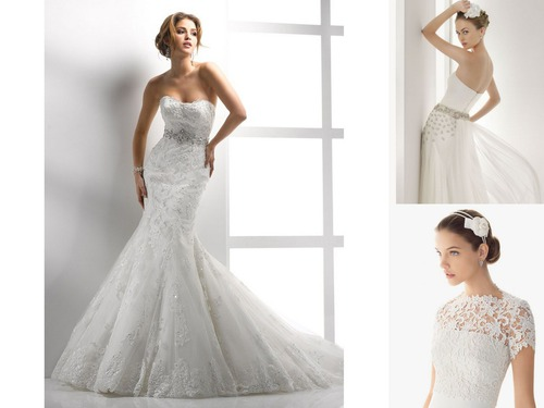 Совет да любовь: свадебная мода для невесты-2013