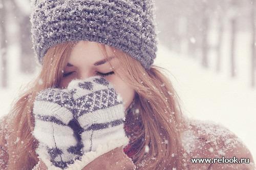 Особый уход за кожей в зимний период