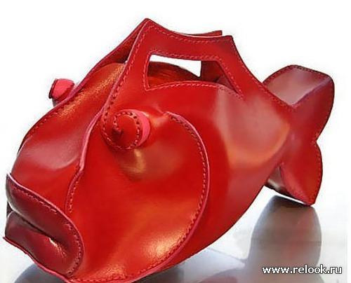 Стильные и смешные дизайнерские сумочки