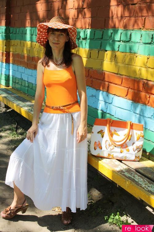 Лето в оранжевом цвете