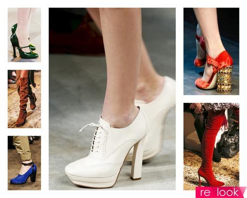 Модная обувь осень-зима 2013-2014