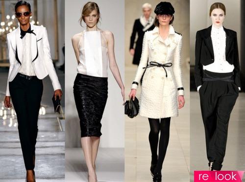Эволюция модной классики 2013, или Черно-белая одежда