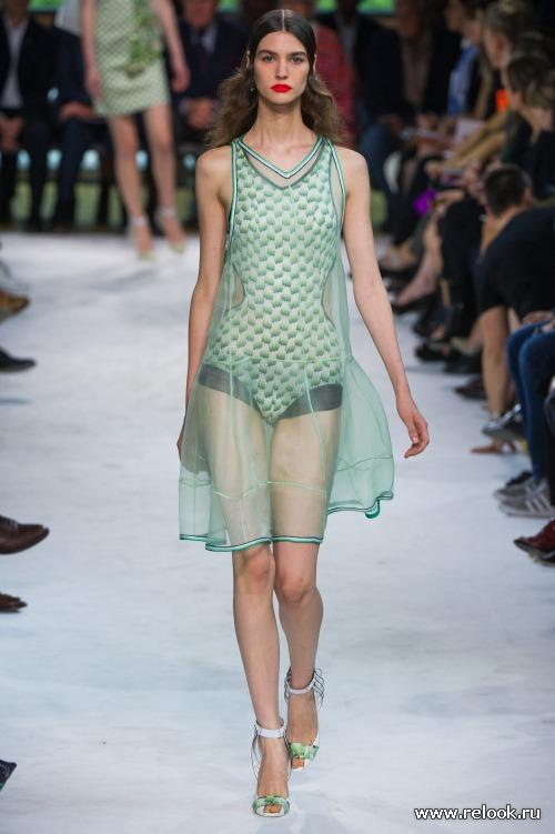 Прозрачность - тренд моды весна-лето 2013