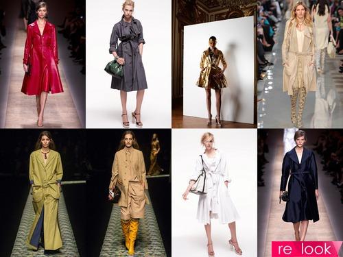 Модные женские плащи 2013