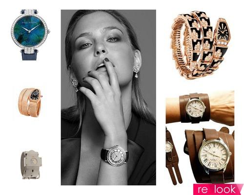 Модная роскошь: женские часы 2013