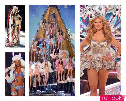 Шоу Victoria's Secret - ангелы на подиуме