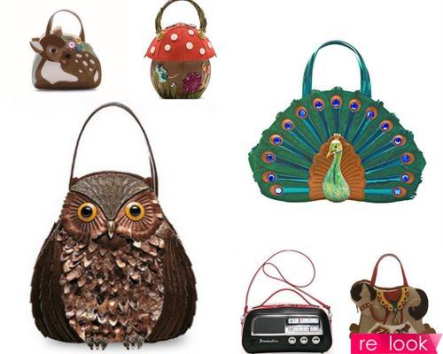 Животный мир в руках: сумки в виде животных и птиц - Braccialini