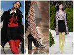В сетку или в горошек? Модные колготки сезона осень-зима 2013