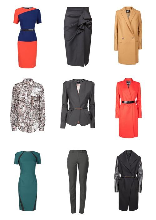 Топ-5 предметов гардероба деловой женщины