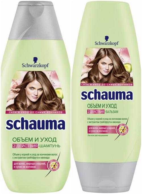 Schauma Объем и Уход: простое решение для сложных волос