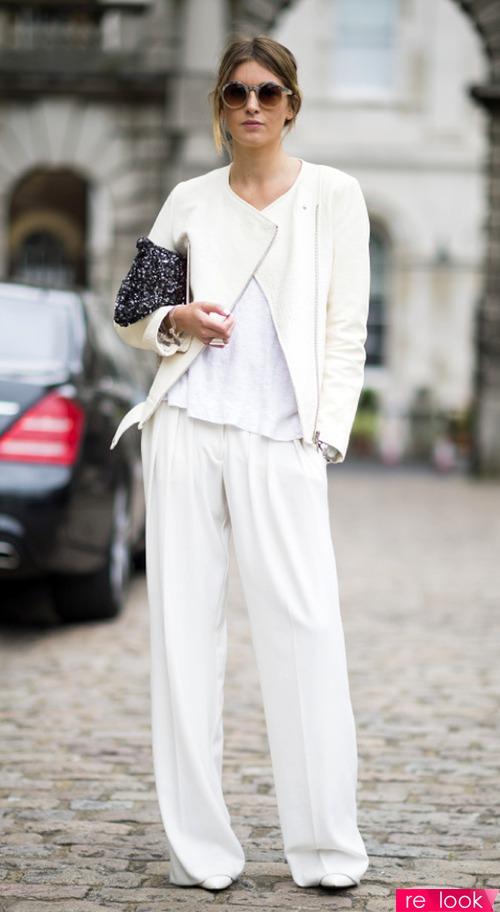 Белый цвет в гардеробе