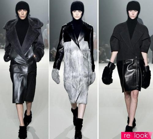 Верхняя одежда из кожи – ведущий тренд осени-зимы 2013-2014