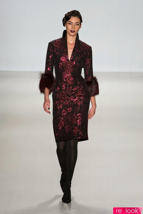 Мода осень-зима 2014-2015: платья