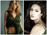 """Анджелина Джоли vs. Дженнифер Энистон: """"битва платьев"""" двух соперниц"""