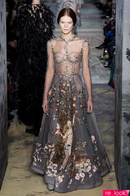 Ожившая сказка римской оперы: коллекция Valentino S/S haute couture 2014